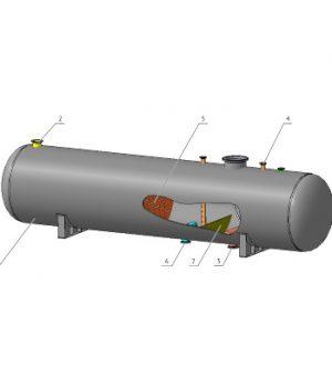 Буфер-дегазатор нефти БДн
