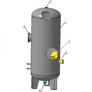 Сепараторы газовые СГВ