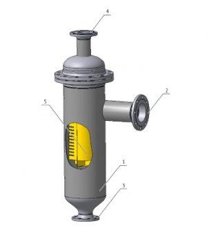Сепараторы газовые СЩВ