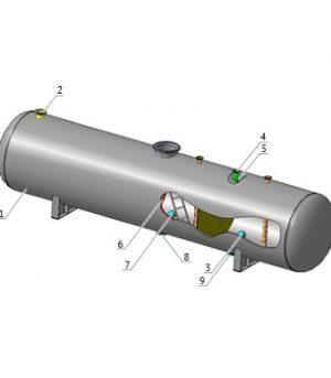 Сепаратор трехфазный ТФСК-Л