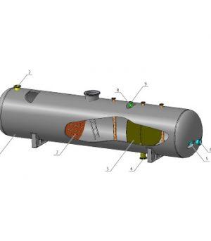 Сепаратор трехфазный ТФСК-Т