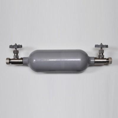 Бесшовный алюминиевый баллон, давление до 9,8 Мпа на 1 литр